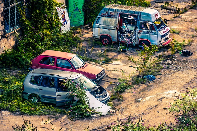 Junk car removal in Ontario